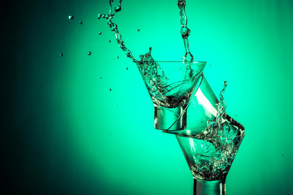 Tim Ireland - Green Splash using Paul C. Buff Einstein E640